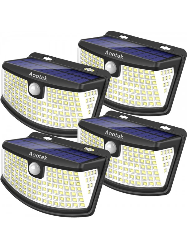 Aootek New solar lights upgraded with lights refle...