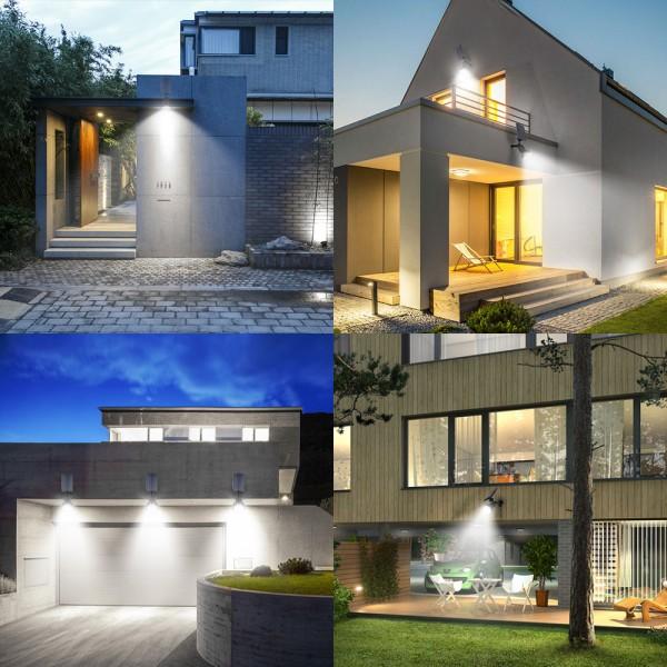 Solar lights Landscape Spotlights,upgraded Smarter...