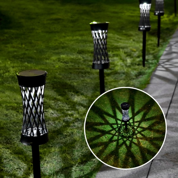 Solar Lights Outdoor Upgraded Bright Solar Pathway...